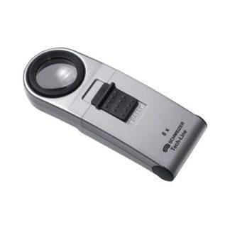 SCHWEIZER Handleuchtlupe Tech-Line Vergößerung 10x LED Linsen-Durchm. 22,8mm
