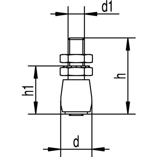 Woelm Führungsrolle -49 S 349 S STA ZN Kunststoffrolle
