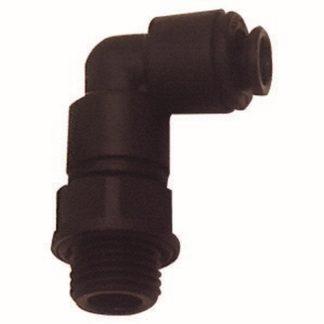 RIEGLER Winkel-Einschraubverschraubung O-Ring Gew. G 3/8 Schlauch-Außen 10mm
