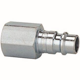 RIEGLER Nippel für Kupplung NW7,2-7,8, Stahl gehärtet verzinkt, G 1/8 IG, 0-35