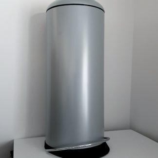 Hailo Tretabfallsammler 26l Stahl silber-grau H. 660 x D. 260 mm 0523-519