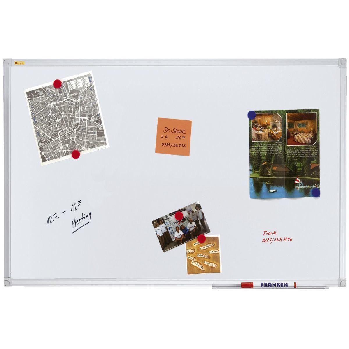 NUR ABHOLUNG – FRANKEN Schreibtafel SC3109 X-tra! Line 150 x 100 cm magnetisch